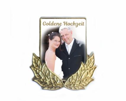 Pin Wappen Ehrenkranz