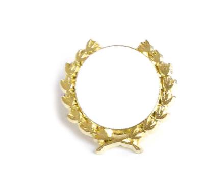 Pin Kranz Gold